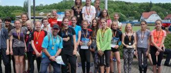 Jüngste Arnstädterinnen siegten beim Landesfinale